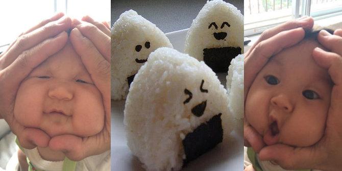 """Trend Aneh """" Rice Ball Babies """" Sangat Populer Di ..."""