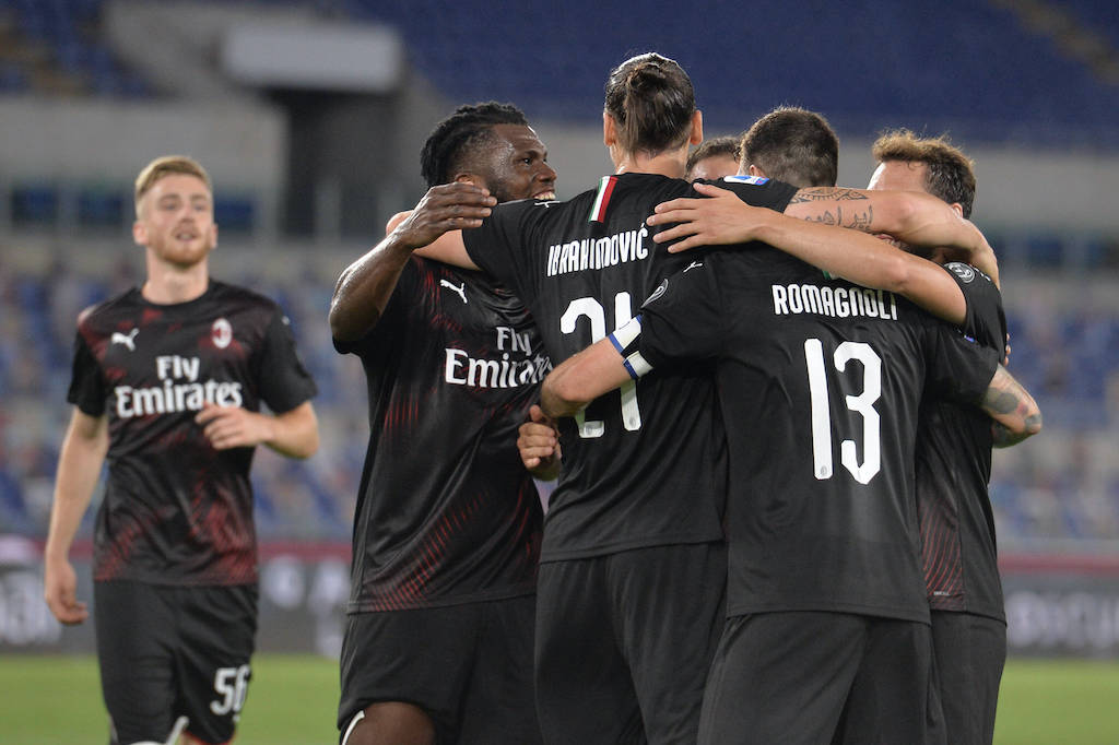 Lazio Tunduk pada AC Milan