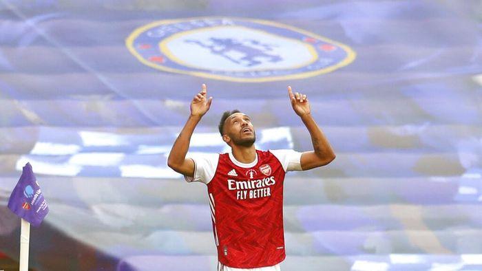 Aubameyang Lebih Tajam dari Mo Salah, Arsenal Rela Lepas