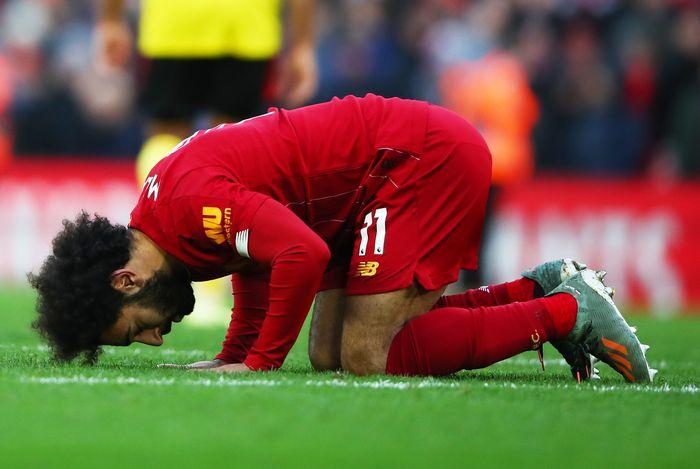 Mohamed Salah Ikut Bersimpati Pada Ledakan Lebanon